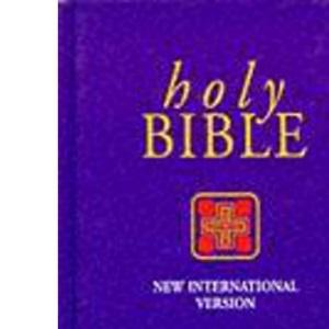 NIV Popular Economy Bible Purple hardback