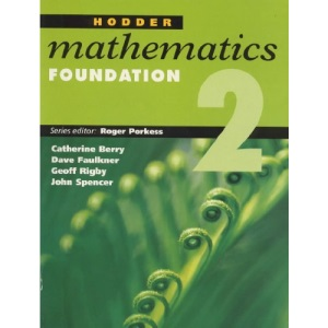 Hodder Mathematics: Foundation Level Bk. 2