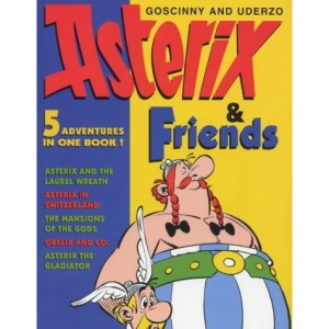 Asterix and Friends: Asterix the Gladiator, Asterix in Switzerland, Mansions of the Gods, Asterix and the Laurel Wreath, Obelix and Co. (The Adventures of Asterix)