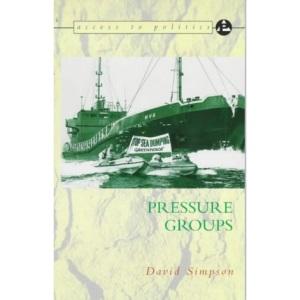 Access to Politics: Pressure Groups