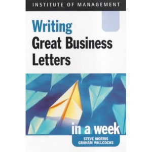Successful Business Letters in a Week (Successful Business in a Week)