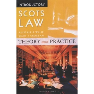 Introductory Scots Law: Theory and Practice