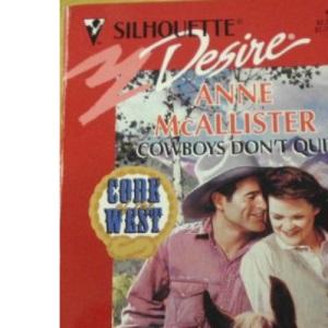 Cowboys Don't Quit (Desire)