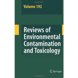 Reviews of Environmental Contamination and Toxicology 192: v. 192