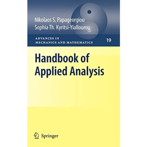 Handbook of Applied Analysis: Preliminary Entry 300 (Advances in Mechanics and Mathematics)