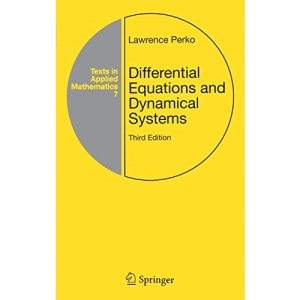 Differential Equations and Dynamical Systems (Texts in Applied Mathematics): 7