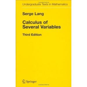 Calculus of Several Variables (Undergraduate Texts in Mathematics)