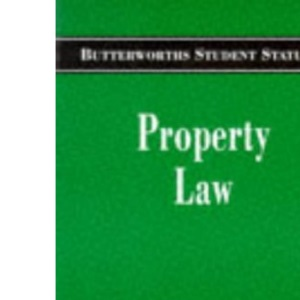 Property Law (Butterworths Student Statutes)