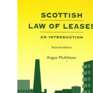 Scottish Law of Leases: An Introduction