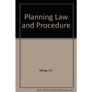 Planning Law and Procedure
