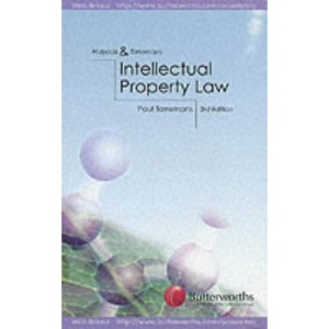 Intellectual Property Law (Butterworths student statutes series)
