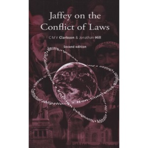 Jaffey on the Conflict of Laws