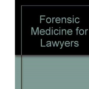 Forensic Medicine for Lawyers