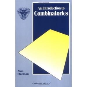 Introduction to Combinatorics (Chapman & Hall Mathematics)