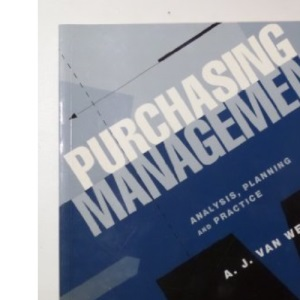 Purchasing Management: Analysis, Planning and Practice