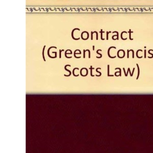 Contract (Green's Concise Scots Law)