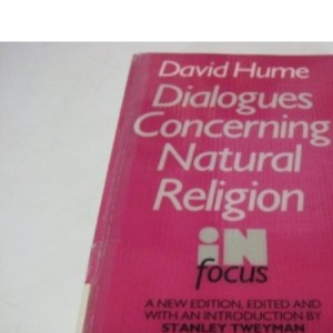 Dialogues Concerning Natural Religion (In Focus)