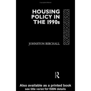 Housing Policy in the 1990's