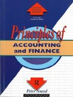 Principles of Accounting and Finance (Routledge Series in the Principles of Management)