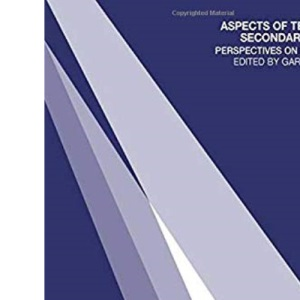 Aspects of Teaching Secondary Music: Perspectives on Practice (OU Flexible PGCE)
