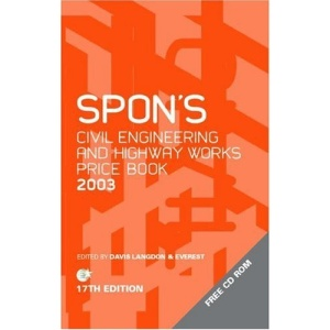 Spon's Civil and Highway Works Price Book 2003 (Spons Price Books)