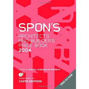 Spon's Architects' and Builders' Price Book 2004 (Spon's Pricebooks)