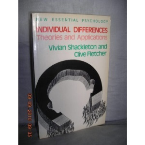 Individual Differences: Theories and Applications (New Essential Psychology)