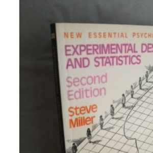 Experimental Design and Statistics (Essential Psychology)
