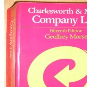 Charlesworth and Morse: Company Law (Charlesworth & Morse)