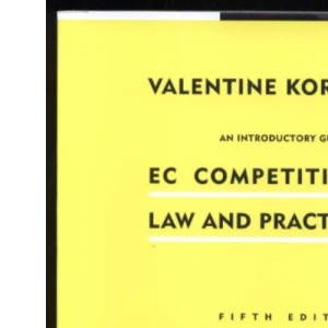 Introductory Guide to EC Competition Law and Practice