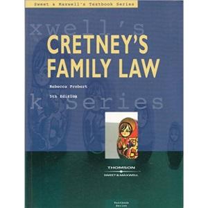Cretney's Family Law (Textbook S.)