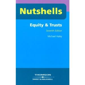 Equity and Trusts (Nutshells) (Nutshells)