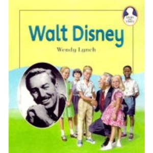 Lives and Times Walt Disney Hardback