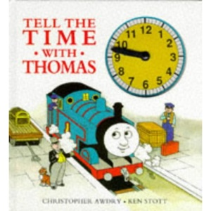 Tell The Time With Thomas : Clock Book : ( Large Print )