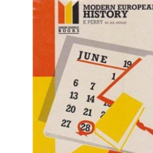 Modern European History (Made Simple Books)