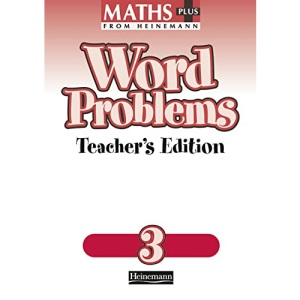 Maths Plus: Word Problems 3 - Teacher's Book