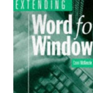 Extending WORD for Windows