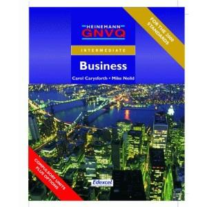 GNVQ Intermediate Business with Options (Gnvq Business Intermediate)