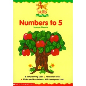 Counting and Writing Numbers 1 to 5 (Skills for Early Years)
