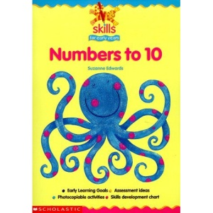 Counting and Writing Numbers to 10 (Skills for Early Years)