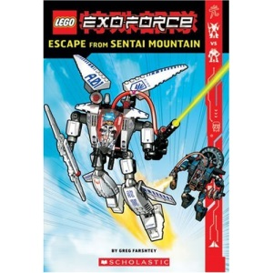 Escape from Sentai Mountain: 1 (Lego Exo-Force Junior Chapter Books)