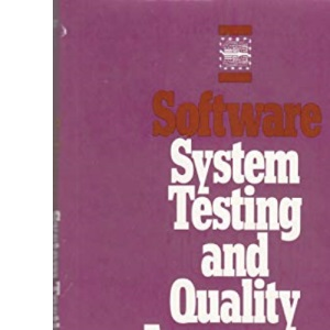 Software Systems Testing and Quality Assurance (Van Nostrand Reinhold electrical/computer science & engineering series)