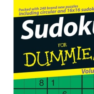 Sudoku For Dummies:Volume 3