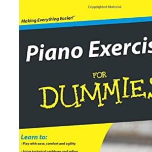 David Pearl Piano Exercises For Dummies Pf Book/Cd
