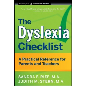 The Dyslexia Checklist: A Practical Reference for Parents and Teachers (J-B Ed: Checklist)