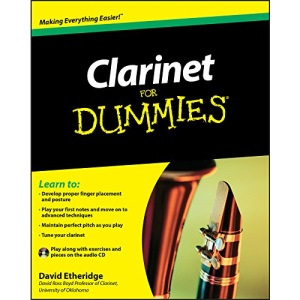 Clarinet For Dummies (For Dummies (Lifestyles Paperback))
