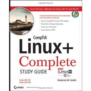 CompTIA Linux+ Complete Study Guide (Exams LX0-101 and LX0-102)