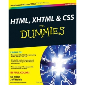 HTML, XHTML & CSS For Dummies (For Dummies (Computers))