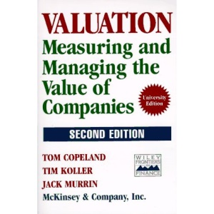 Measuring and Managing the Value of Companies (Second Edition)