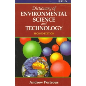 Dictionary of Environmental Science and Technology